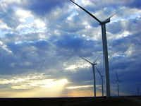 Comptroller Susan Combs issued a report last month questioning the state's $7 billion project to connect wind and solar farms, such as this one in Albany, to cities to the east.(RES Americas)
