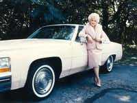 Mary Kay Ash, with her 1986 Fleetwood, repeated the snub story in sales training.(Mary Kay archives)