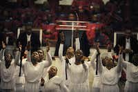 Price's niece Ava Howard led the Praise Be to God Dance Group during Sunday's service. Congregation members said Price supported all of the church's ministries.