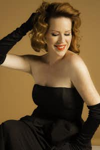 Singer-actress Molly Ringwald