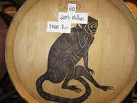 Infinite Monkey Theorem in Denver houses its wine at its tasting room in the River North arts district.( Claire Jurkiewicz )