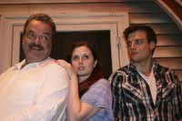 """The Most Happy Fella"" by Lyric Stage features (from left) Bill Nolte, Amber  Nicole Guest and Doug Carpenter."