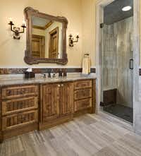 One of nine full bathrooms in the home.(Sean Gallagher)