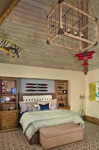 This child's bedroom has whimsical touches. There are nine bedroom suites in the home. Click the link below to read more about the home from Candy Evans.(Sean Gallagher)