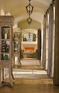 A view down one of the home's hallways.(Sean Gallagher)