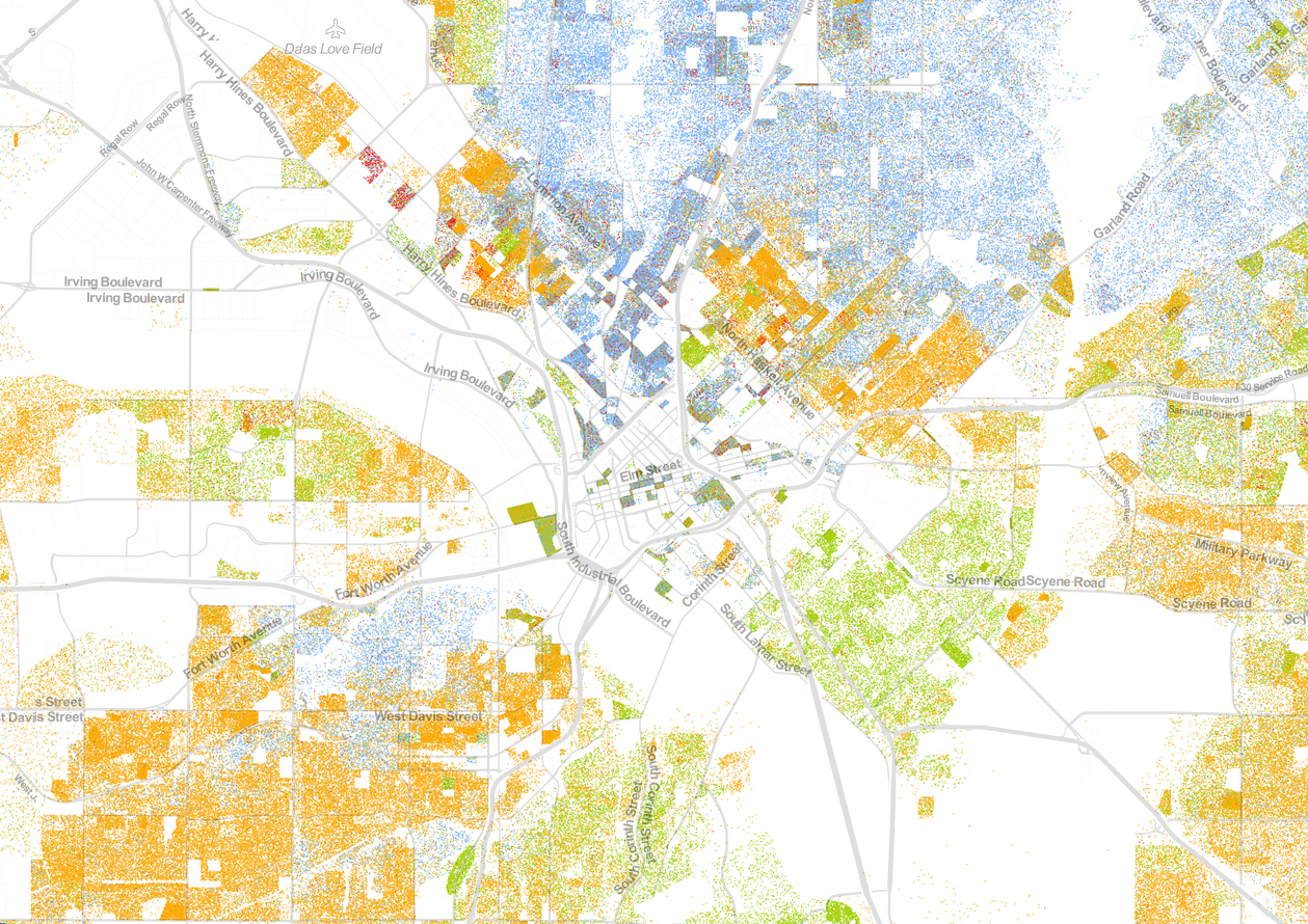 Ethnic Map Of Us - Us-demographics-map