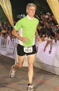 CEO Mark Ulfig implemented running into Sanden's health program in 2010.