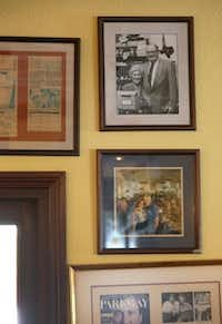 Old photos added to the atmosphere at the Mecca.( Brad Loper  -  Staff Photographer )