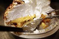 Coconut cream pie at The Mecca Restaurant in Dallas.