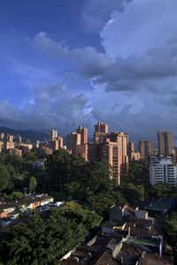 A view of Medellin, Colombia.