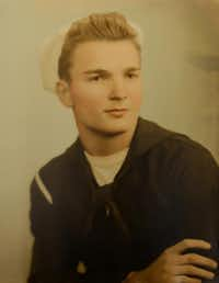 Veteran Willard Williams of Rowlett was 17 when he joined the Merchant Marine in 1945.(Photo submitted by WILLARD WILLIAMS)