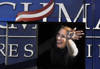 Michele Bachmann is hoping for a surprise to keep her campaign going, but could be at end of the line.