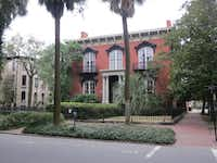 The Mercer Williams House, site of the notorious shooting death in Midnight in the Garden of Good and Evil, is now a museum in Savannah, Ga.( Photos by Wesley K.H. Teo  -  Special Contributor )