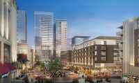 The so-called Midtown Esplanade