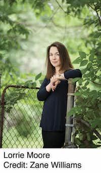 Author Lorrie Moore( Zane Williams )