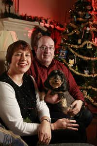 Robin and Doug Morgan have been part of a suit against Plano ISD for years. Their son tried to hand out candy cane pens with a religious message in 2003.