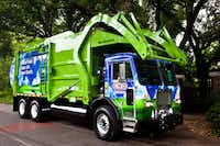 Community Waste Disposal is collecting trash in the Dallas-Fort Worth area with trucks that run on compressed natural gas.