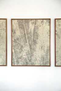 Swedish artist Oscar Berglund's Untitled (Stained) series.( Nan Coulter  -  Special Contributor )