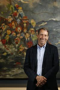 Artist John Alexander's powerful new show continues through June 28 at Meadows Museum.(Nathan Hunsinger - Staff Photographer)