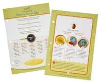 Kits to get kids exited about science, photographed June 20, 2014. How to recipe cards from kidstir.Evans Caglage  -  Staff Photographer
