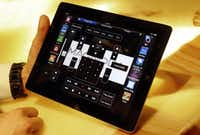 The Magnolia Design Center offers a tablet that can control a home theater.Lara Solt  -  Staff Photographer