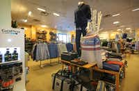 The men's section of the Saint Bernard store in Inwood Village.( Louis DeLuca  -  Staff Photographer )