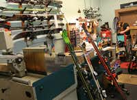 The ski shop section of the Saint Bernard store in Inwood Village.( Louis DeLuca  -  Staff Photographer )