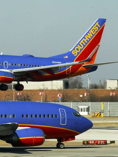 Can big airlines like Love Field's Southwest or Forth