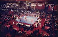 Real estate appraiser Steve Crosson officiated the first FightNight, held at the Fairmont in 1989.