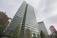 I.M. Pei designed the downtown high-rise as an office building.(Louis DeLuca - Staff Photographer)
