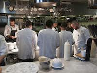 Young men who've recently left juvenile detention can find a place in the kitchen at Cafe Momentum's culinary training program. Its restaurant is set to open in December.( Rex C. Curry  - Special Contributor<137>)