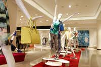 Neiman Marcus NorthPark's third floor houses fine apparel.