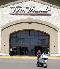 """The Tom Thumb experience won't decline because that's part of the value that Albertsons saw,"" one industry expert says.( David Woo  -  Staff Photographer )"