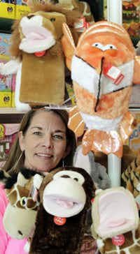 Kathryn Cook, who owns Learning Express in Snider Plaza, has allowed several local inventors and entrepreneurs, including the pair behind the Frabjous puzzle, to sell items at her toy store.