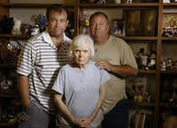 "Kent (left) and Mark Olds of Dallas said their 79-year-old mother, Gail, has dementia and was exploited by a caregiver who took about $7,500 from her. ""This lady took Mom to the credit union on two different occasions,"" Mark Olds said.(David Woo - Staff Photographer)"