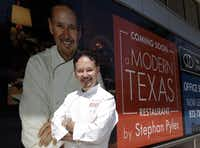 Local star Stephan Pyles, chef at Stephan Pyles, Samar and the soon-to-open Stampede 66, says this is his first time to do a MetroCooking show; he was persuaded, he says, by Dallas Morning News publisher Jim Moroney after the two ran into each other at a New York restaurant.(David Woo)