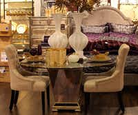 The popular home store Z Gallerie is also part of the mix at Willow Bend.