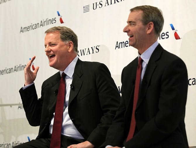 Schnurman At American Airlines Ceo Pay No Longer Trumps