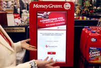 MoneyGram's self-serve kiosks allow users to quickly transfer money anywhere in the world.