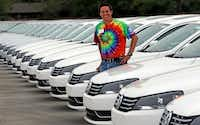 """Lewisville Volkswagen general manager Alan Brown thinks Volkswagen's lofty ambitions are attainable. """"I think the likelihood of their success is phenomenal,"""" he says."""