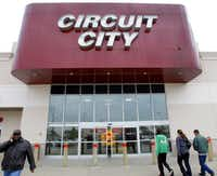 Circuit City store in Plano at Parker and N. Central Expressway on January 16, 2009. (Photo/Louis DeLuca/The Dallas Morning News)