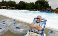 David Busch, owner of Hawaiian Falls Waterparks, lives for the summer. Since the first park opened in 2003 in Garland as part of a public-private effort, his business forecast has been mostly sunny.