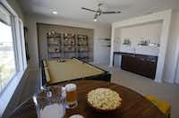 Leisure room in the MainVue Homes Carmel Q1 model home at Phillips Creek Ranch in Frisco, on Tuesday, February 17, 2015. (Vernon Bryant/The Dallas Morning News)Vernon Bryant - Staff Photographer