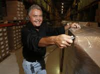 Ray Davis, founder of ADCO Industries, 71, has made it a life's passion to improve on the box cutter after seeing someone almost die from a a box cutter injury.