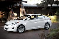 The Hyundai Elantra, which saw sales rise 46.8 percent through August, is among brands that stand to gain as Japanese automakers' inventories remain limited after the earthquake and tsunami in March.