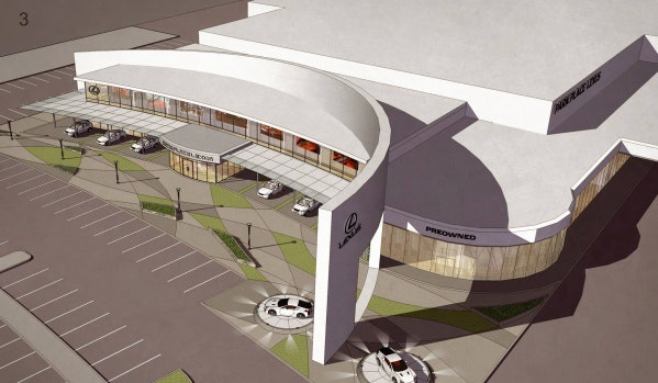 Superior Auto Dealer Park Place Plans Huge New Lexus Store In Plano | Autos | Dallas  News