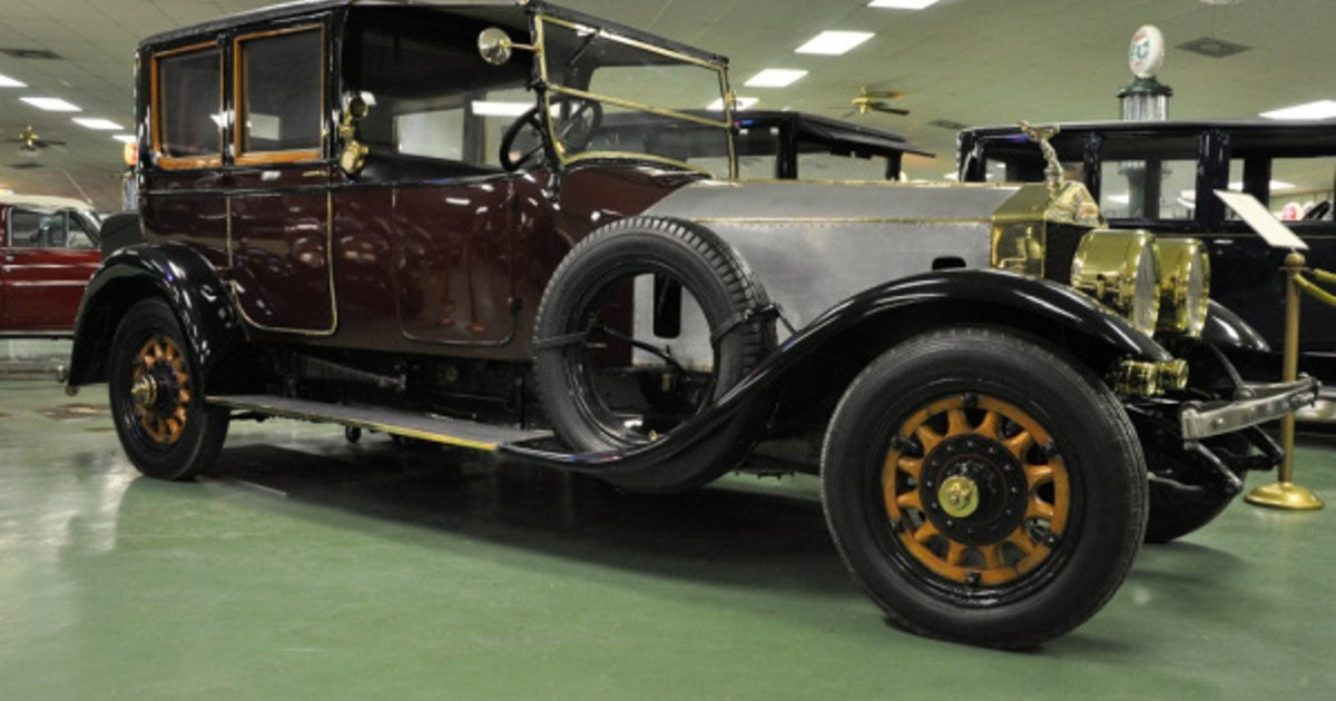 Vanderbilt s 1913 rolls royce available at auction autos for Rolls royce motor cars dallas