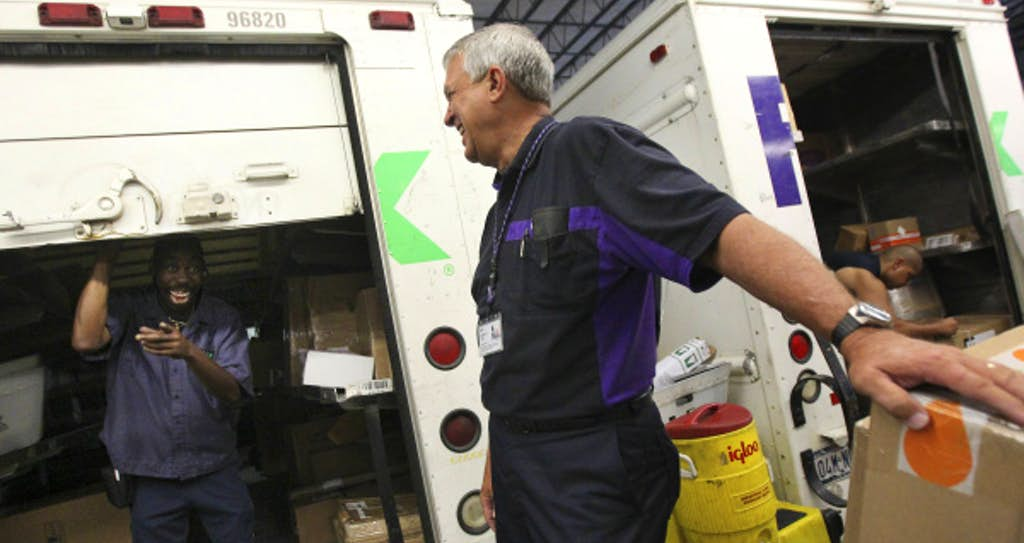 former firefighter strikes green as fedex ground contractor business dallas news