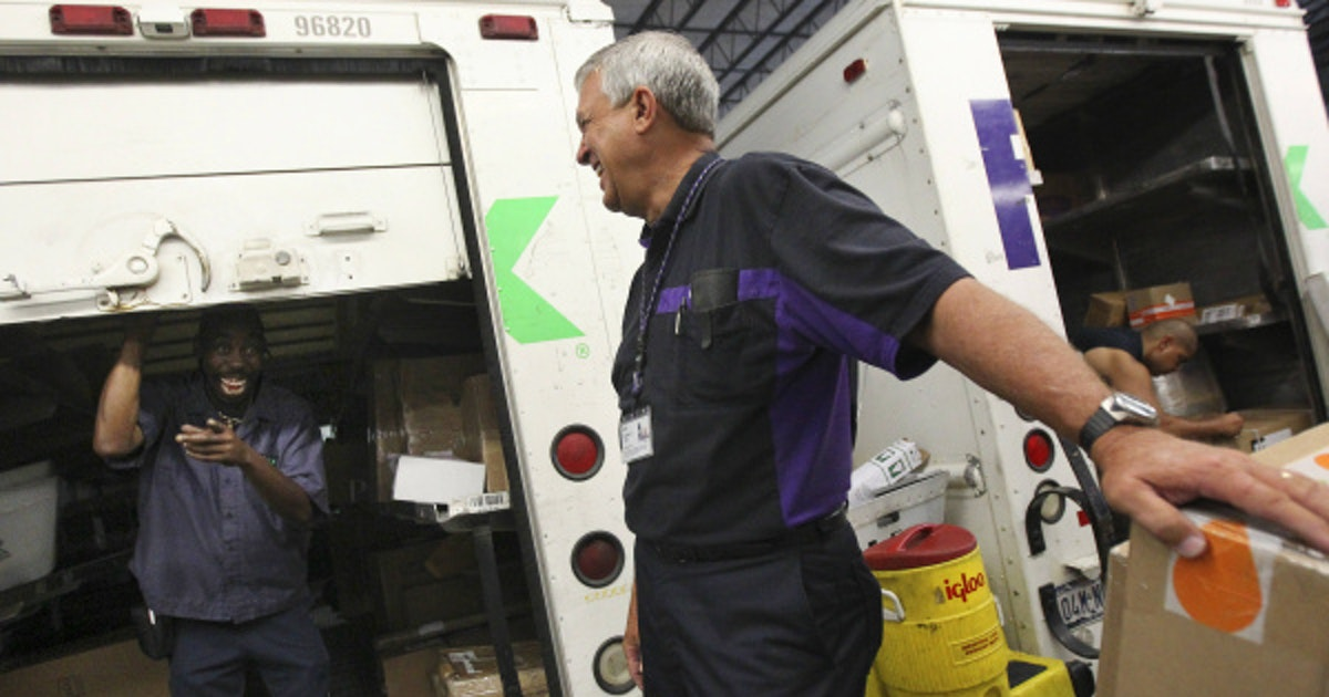 Former firefighter strikes green as FedEx Ground contractor