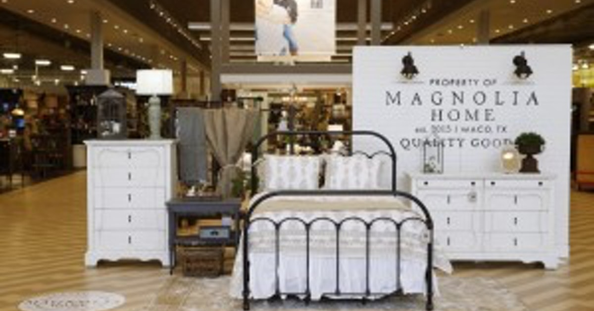 Hgtv Fixer Upper Joanna Gaines Magnolia Home Furniture Debuts At